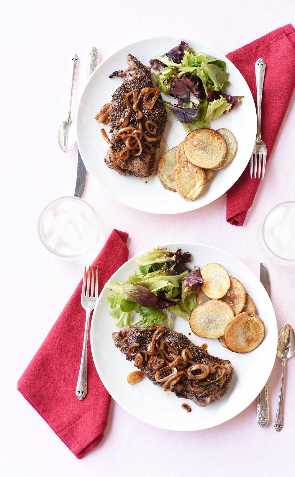 Ali Hedin's Steak au Poivre