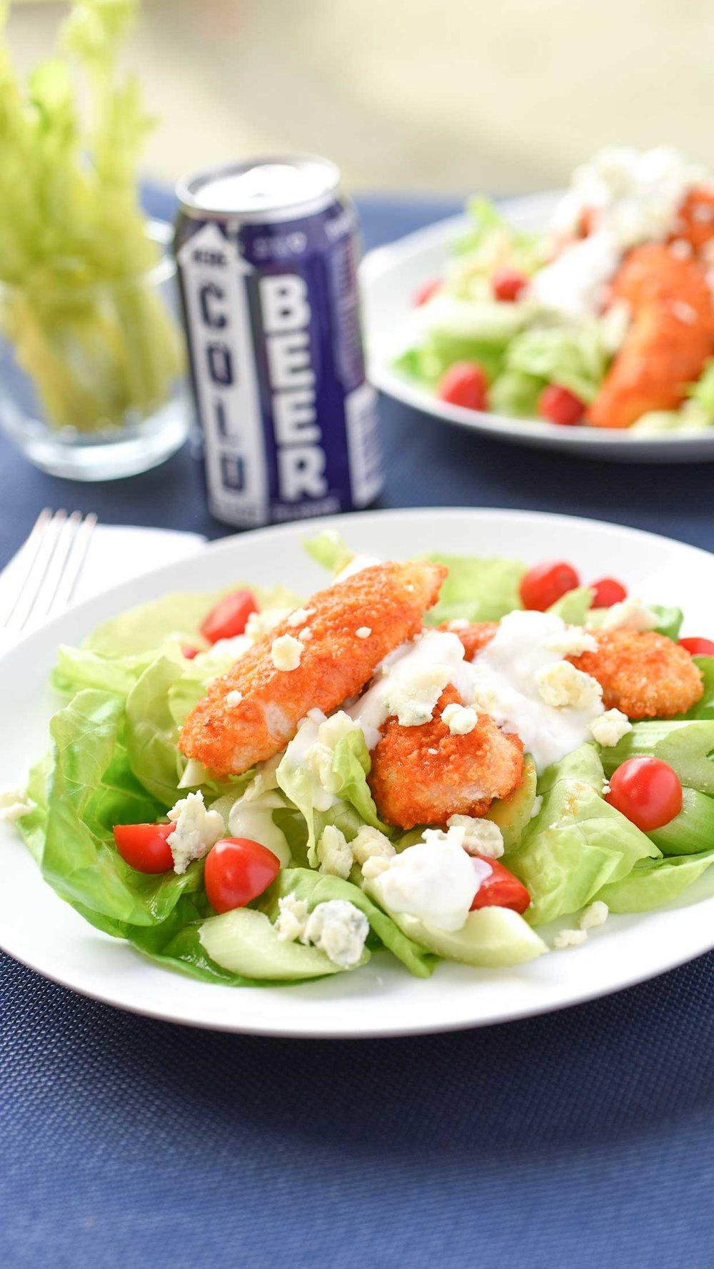 Ali Hedin | Healthy-ish Buffalo Chicken Salad