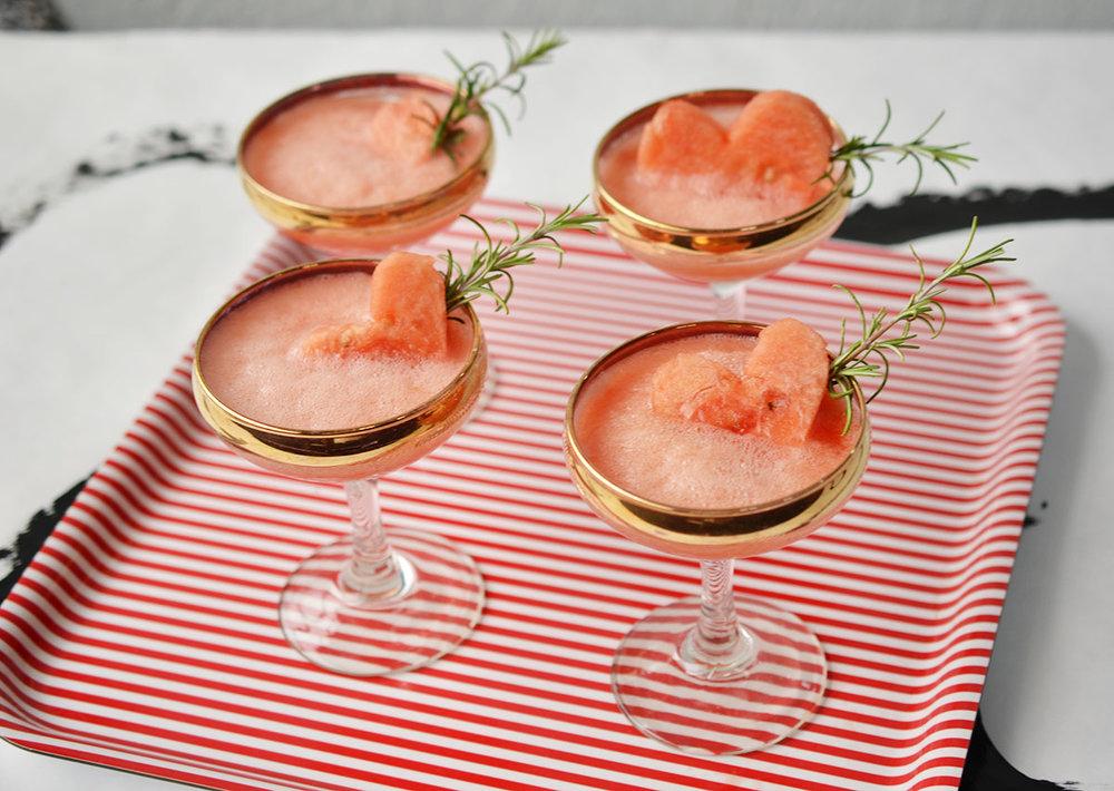 Ali Hedin | Watermelon Fizz for Galentine's Day