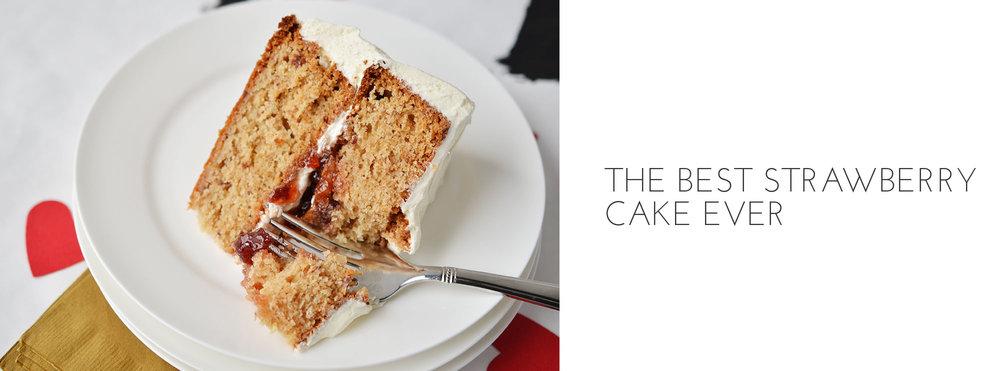 Ali Hedin | Strawberry Cake