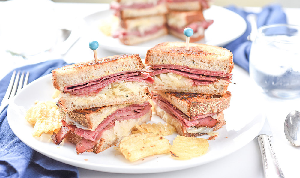Ali Hedin | 10 minute Reuben Sandwich for St. Patrick's Day