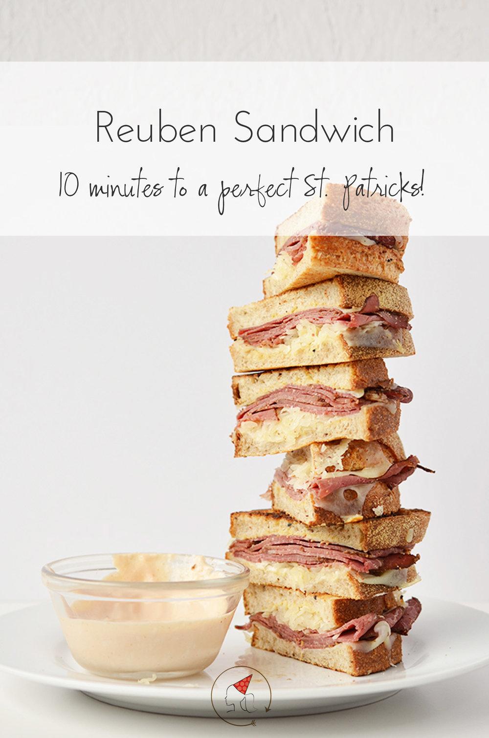 Ali Hedin | Reuben Sandwich