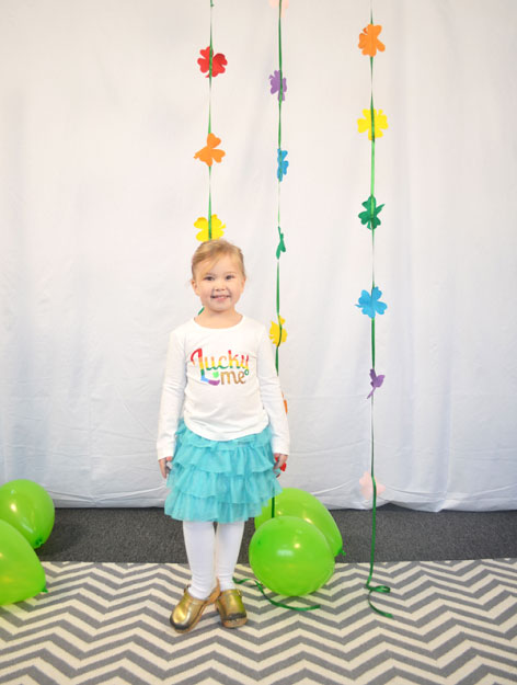 Ali Hedin | DIY Rainbow Lucky Shirts for St. Patrick's Day