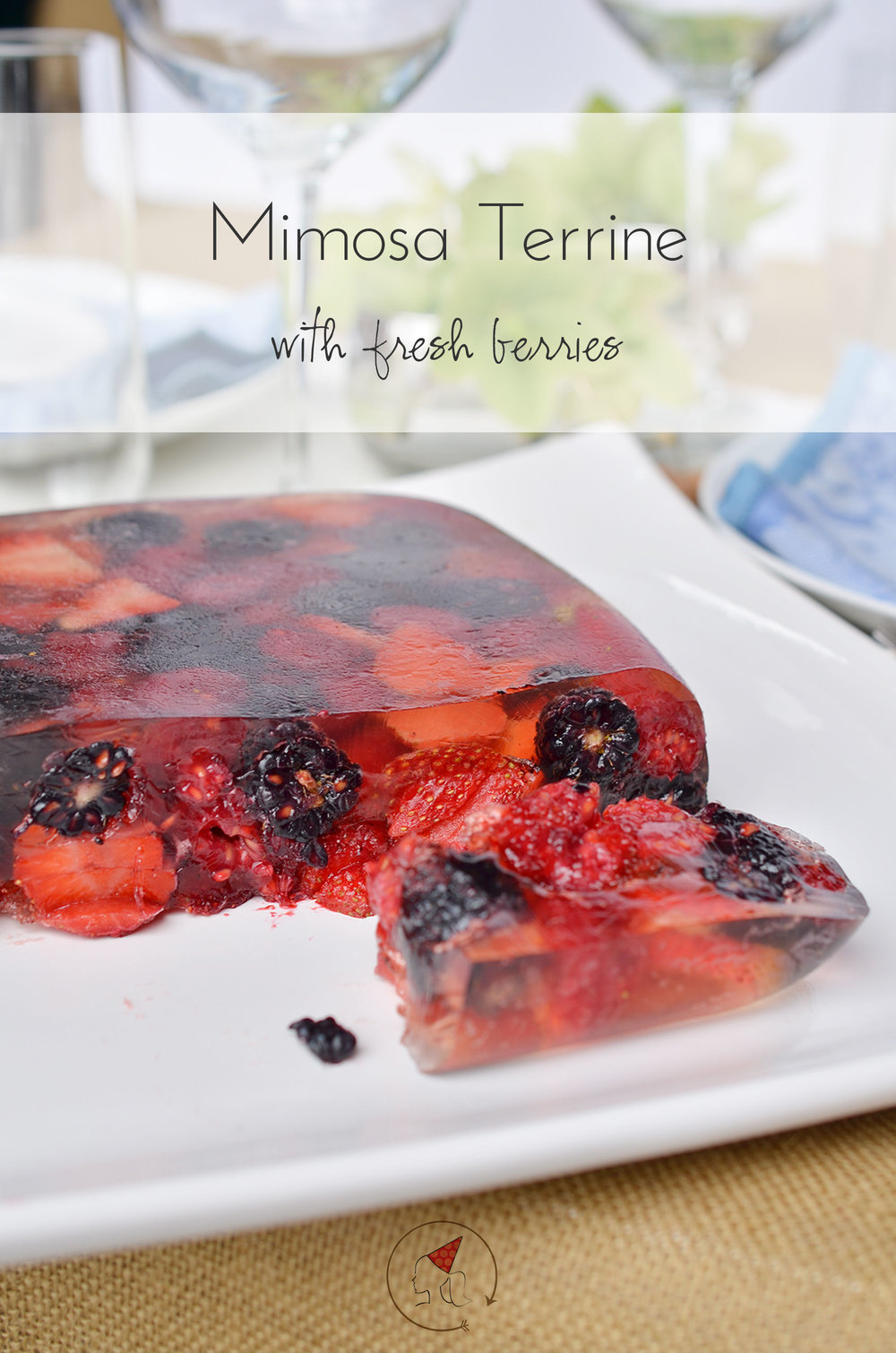 Ali Hedin | Mimosa Berry Terrine