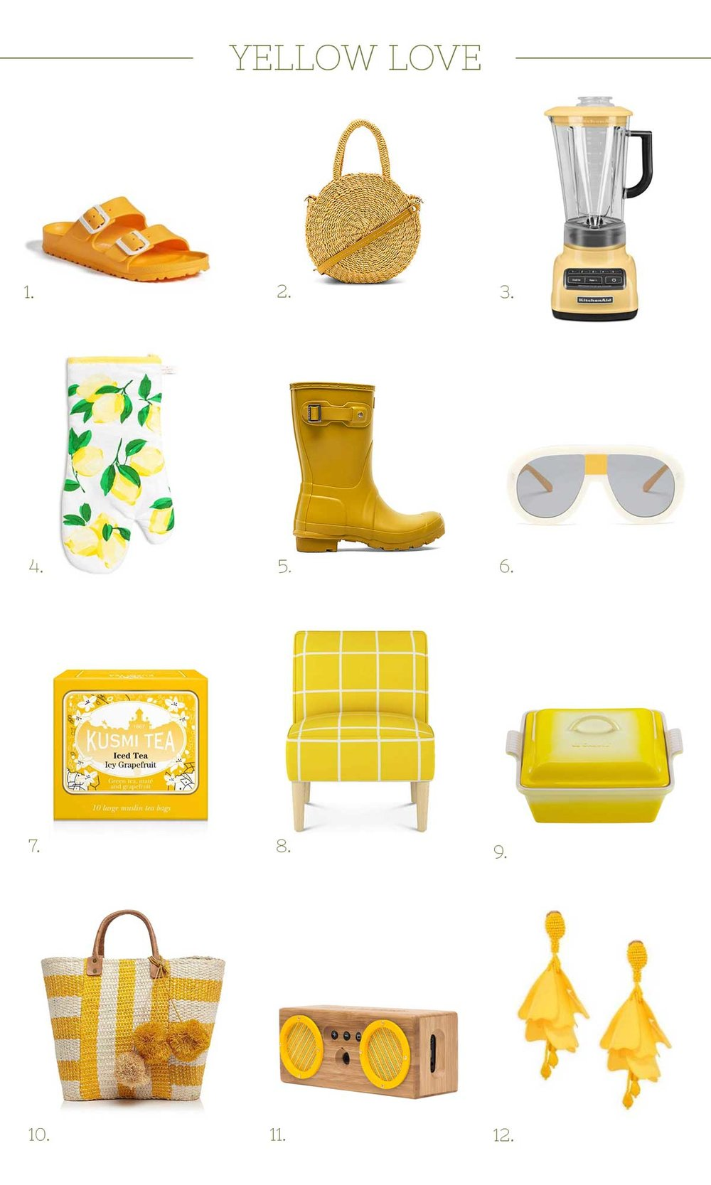 Ali Hedin loves Yellow