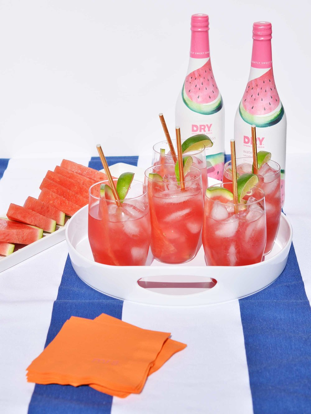 Ali Hedin | Watermelon Cocktail with DRY Sparkling Watermelon