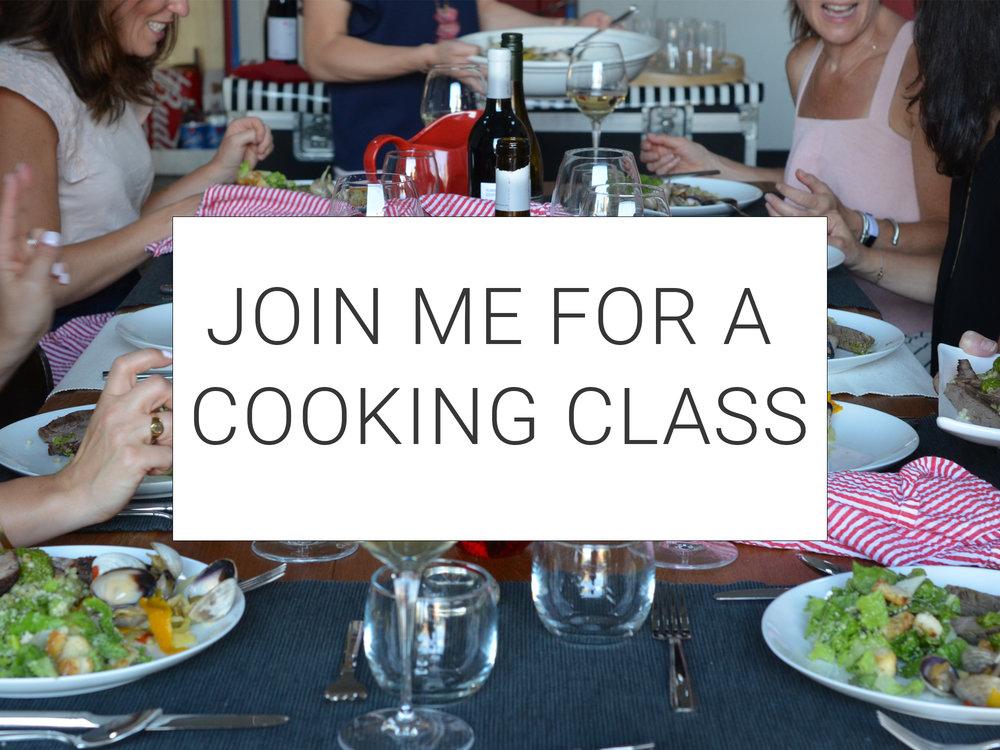 Ali Hedin | Weeknight Cooking Class