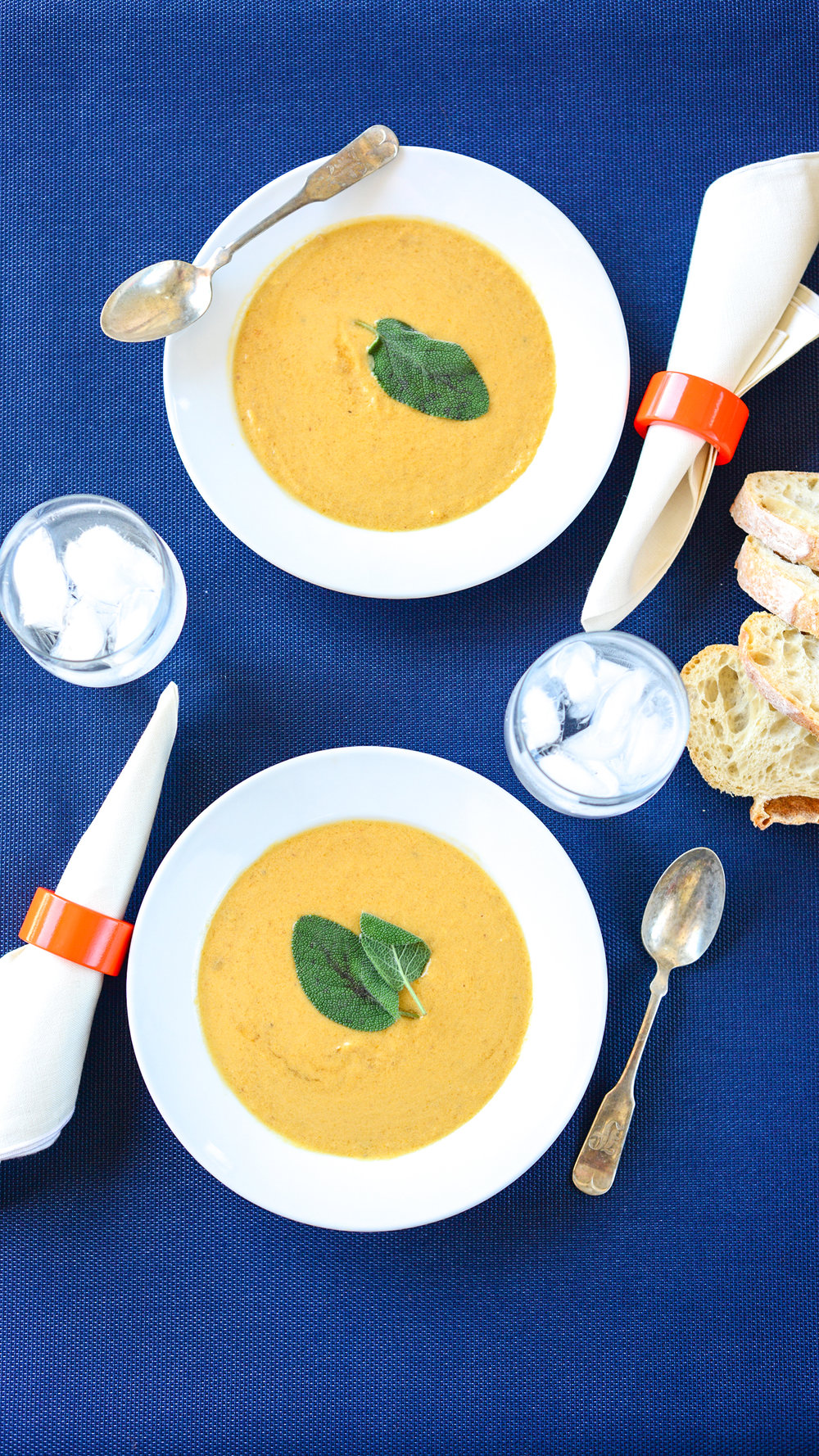 Pumpkin Soup that tastes like fall