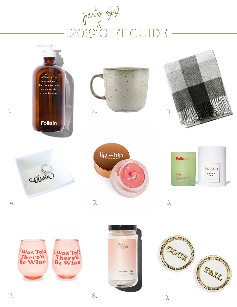 Ali Hedin 2019 Holiday Gift Guide