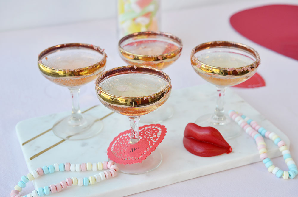 Hedin Simple Valentine Cocktail Party | Candy Cocktail