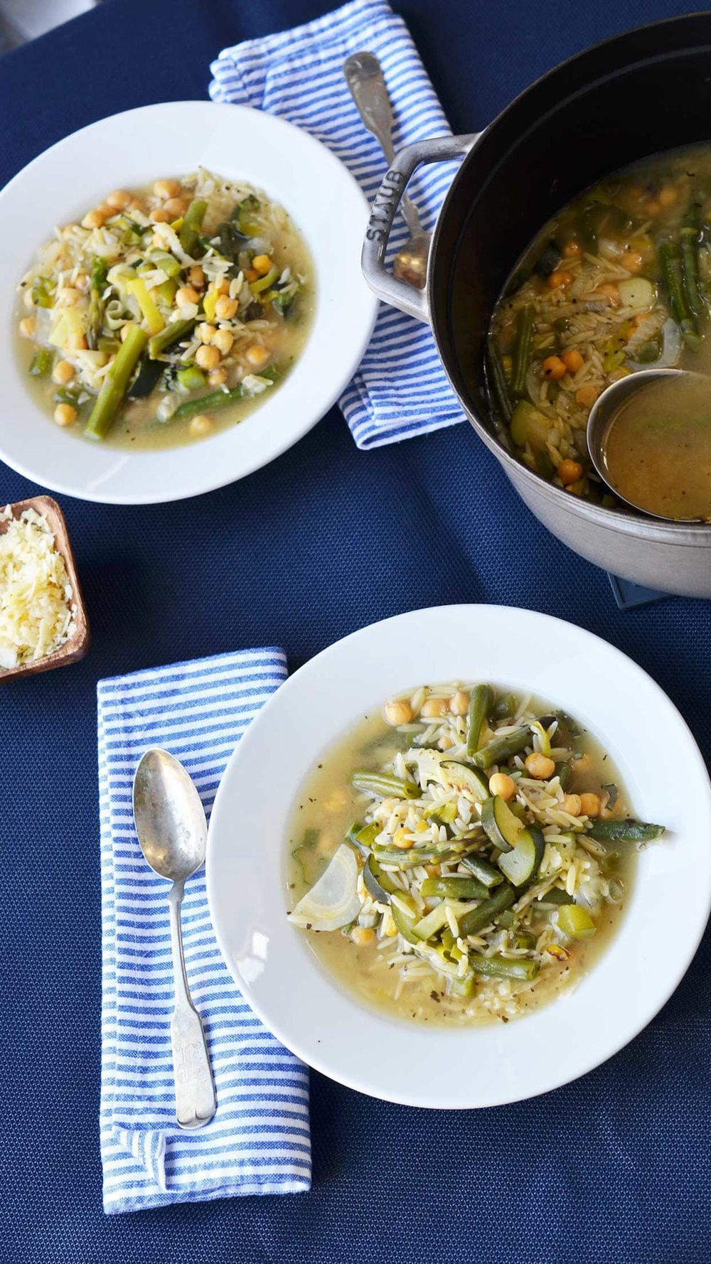 Ali Hedin | Spring Minestrone Soup
