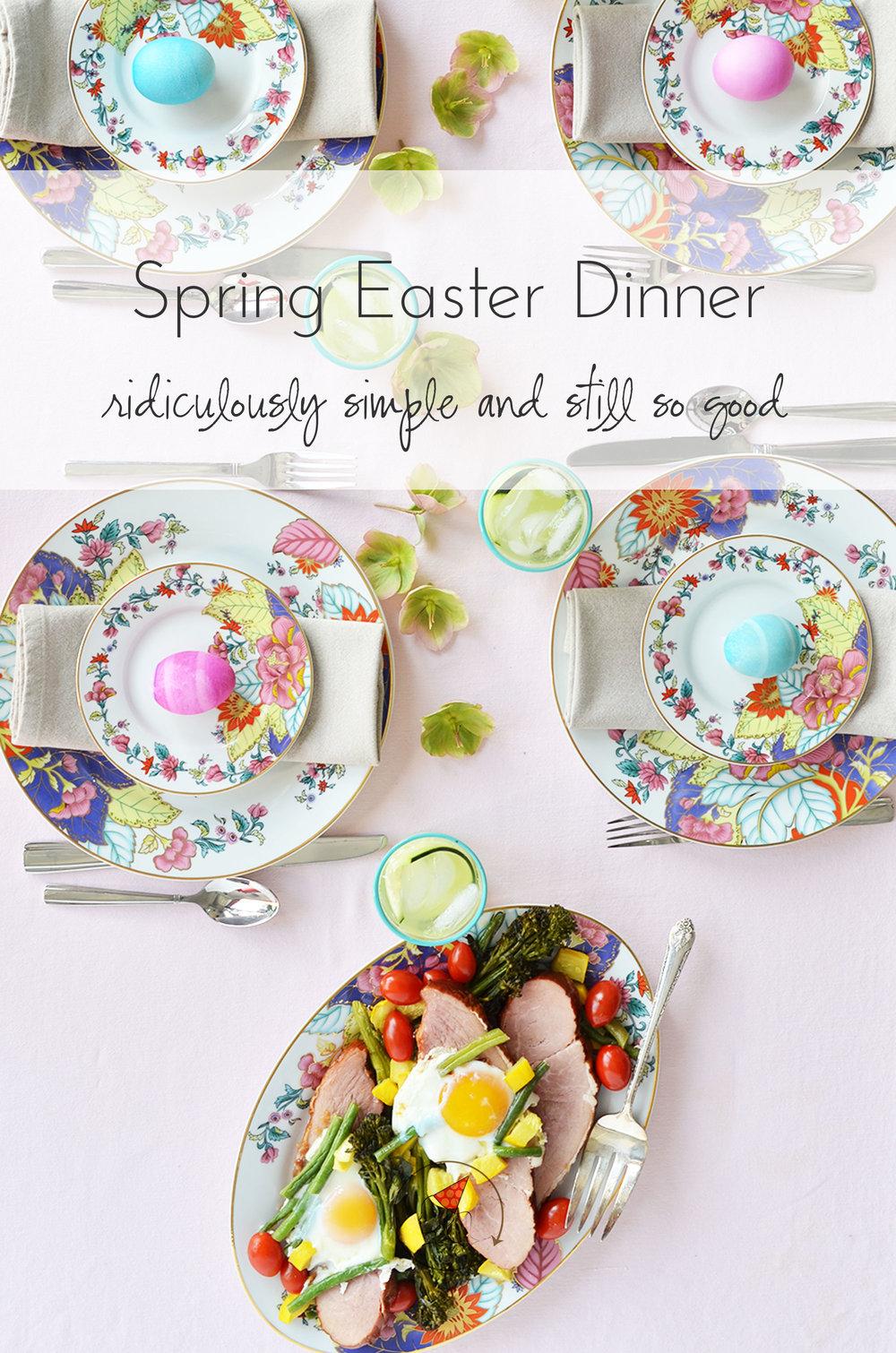 Ali Hedin | Spring Easter Dinner