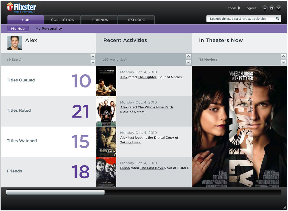 Track your movie habits and get daily recommendations