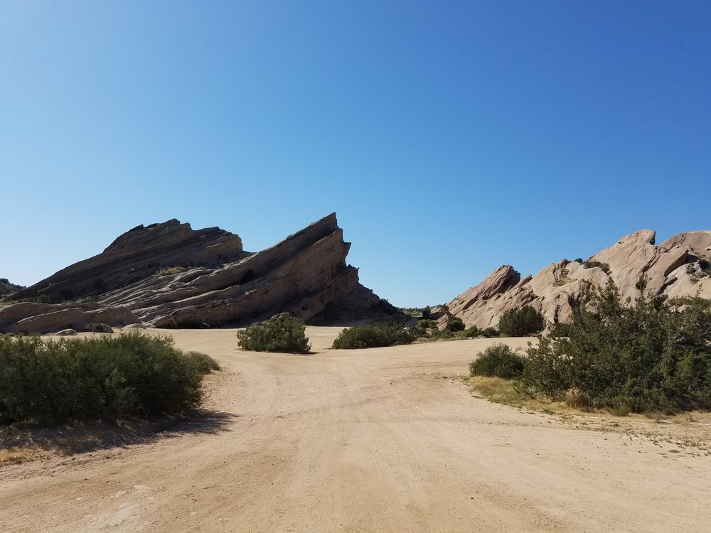 Vasquez Rocks. Oddly familiar for a place I've never been before...