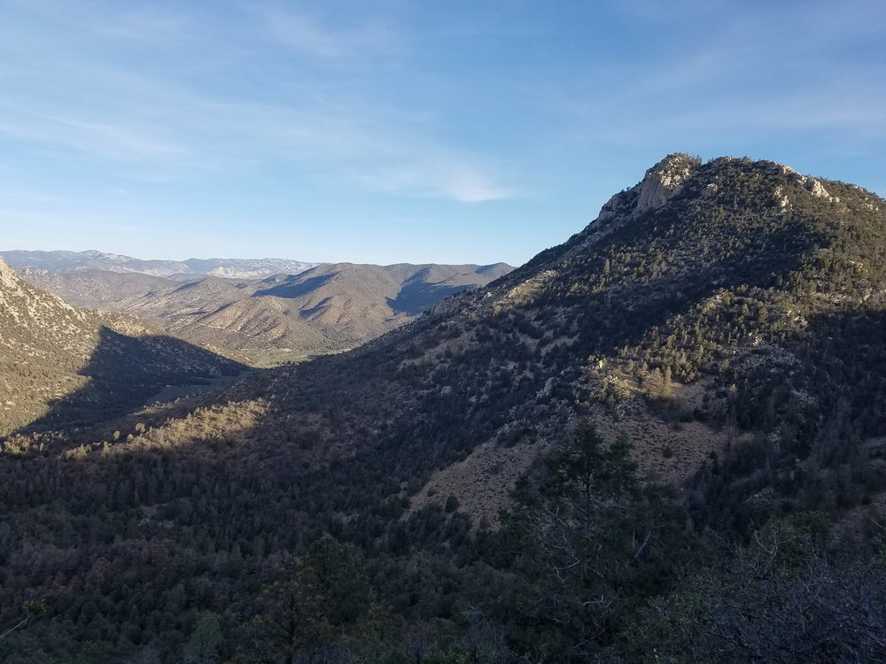 Big desert views