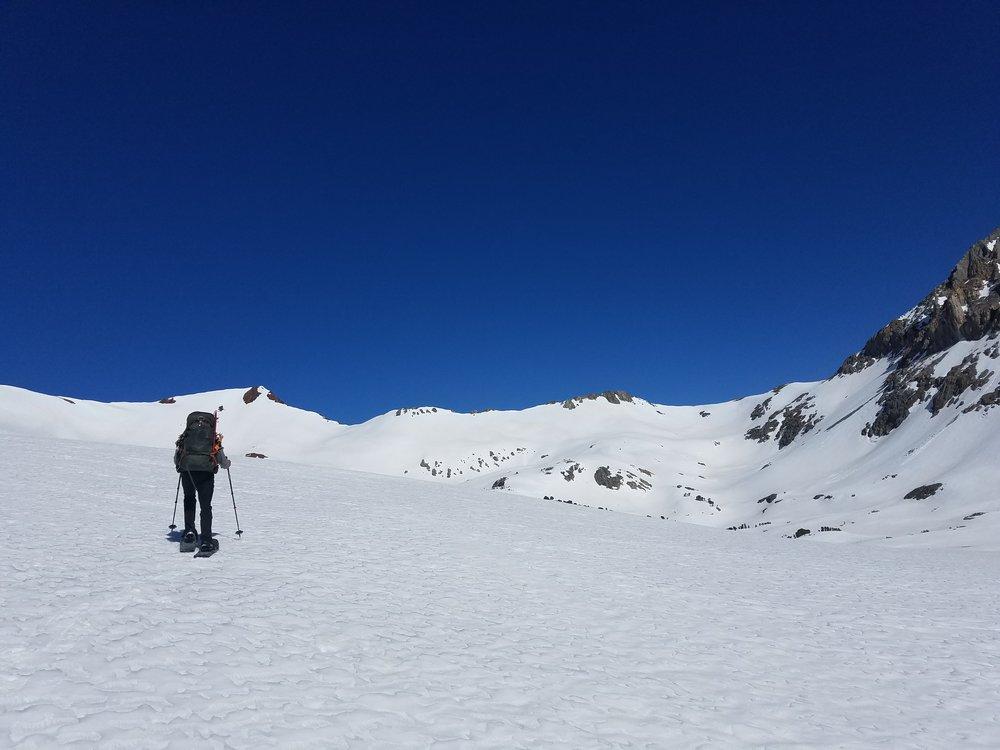 May 2017 - Looking north to Pinchot Pass.