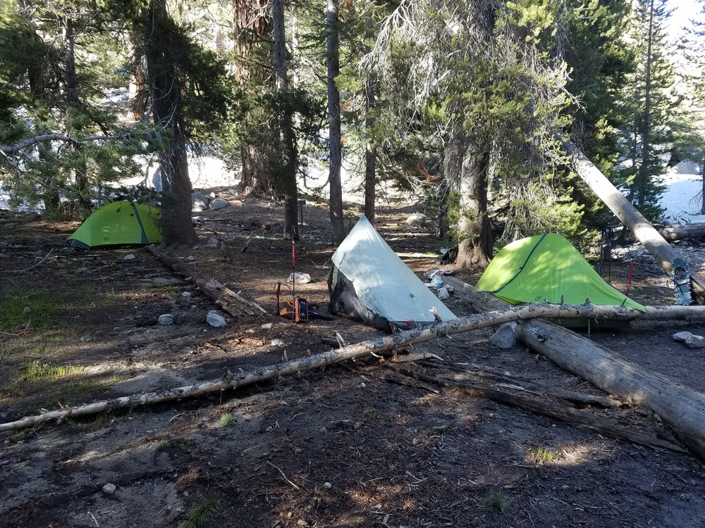A third tent!