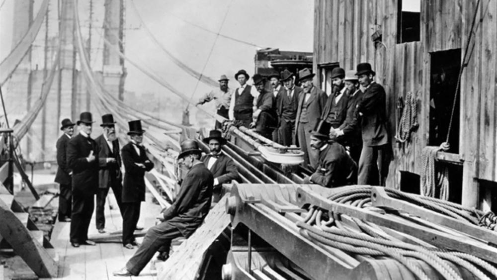 George Lape Engineer of the Brooklyn Bridge