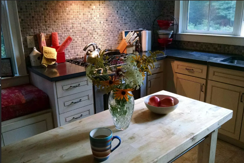 CHARMING FARMHOUSE  Summit, NY  Full address and info available upon booking  Click  h e re  for details on airbnb.com  Distance: about 8 miles / 10 minutes Capacity: 6 people