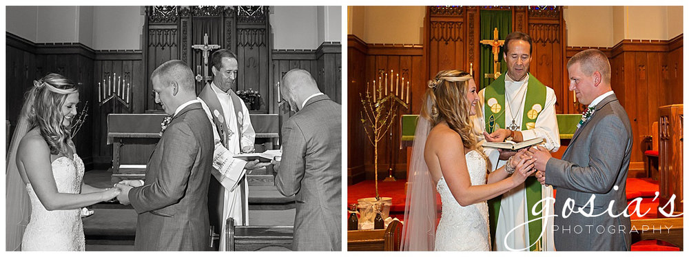 Tiffany and Tyler chose to have their ceremony at a beautiful Clintonville church.