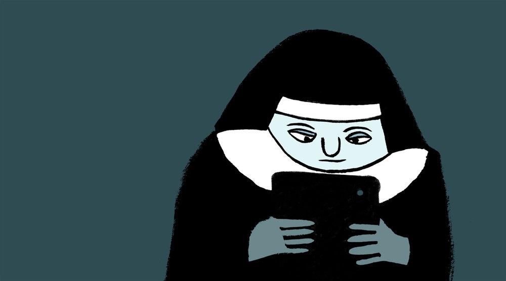 Millenial Nun
