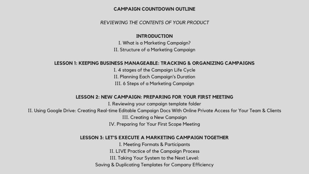 Campaign Countdown Campaign Countdown