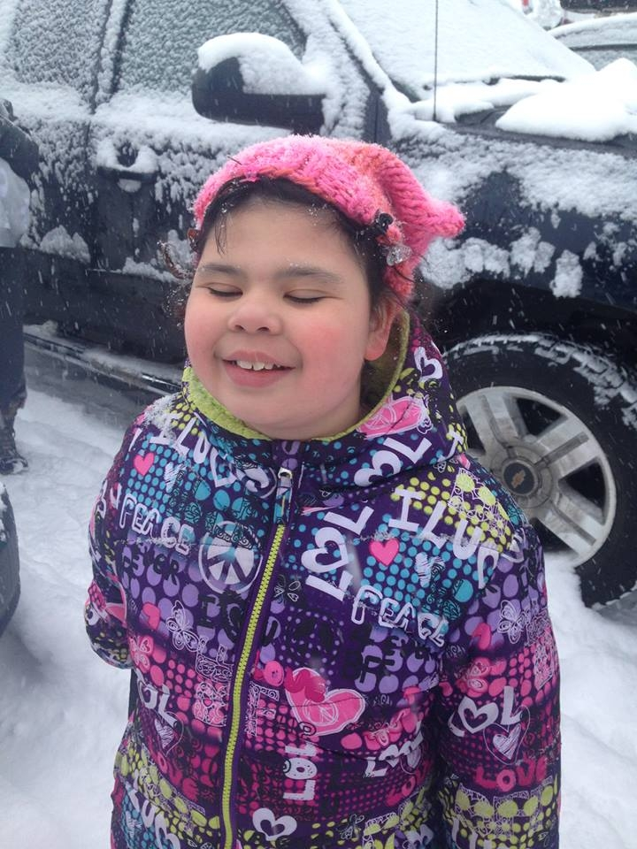 """Saved her life!  Without Medicaid and services available, she wouldn't be able to speak or walk. Couldn't go to school or have friends and live with her adopted family who adores her. She would have died or been institutionalized (worse).""   - Shelly, grandmother of Claire (9yo), from Alaska"