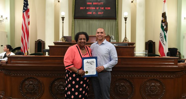 2017 Veteran of Year Recognition in Sacramento