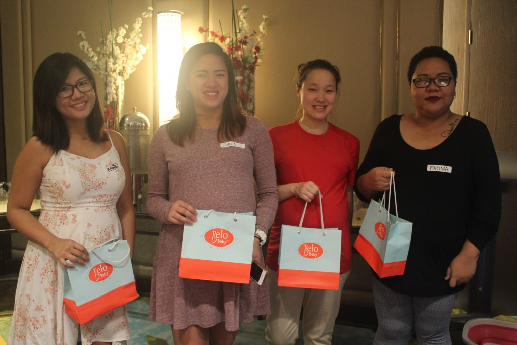 Lucky moms took home gifts from Belo Baby