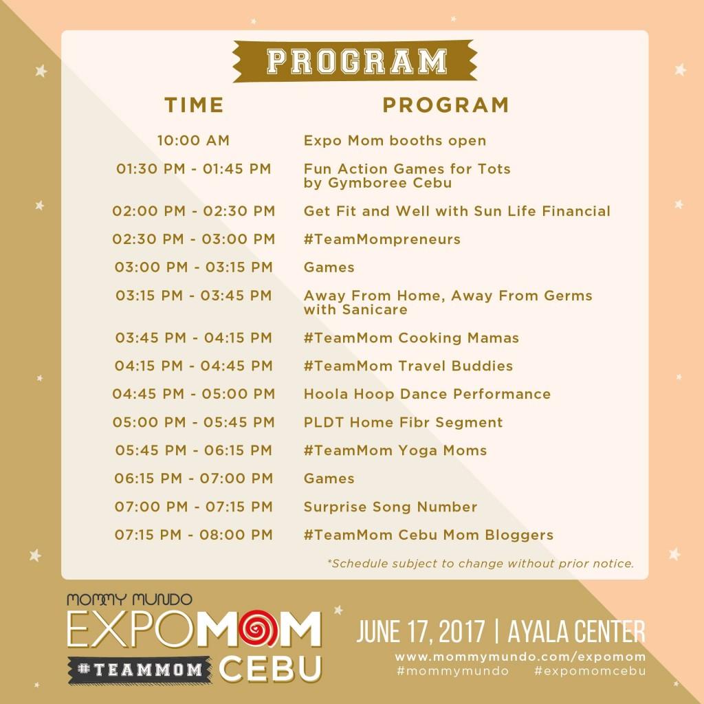 Expo Mom Cebu Program-01