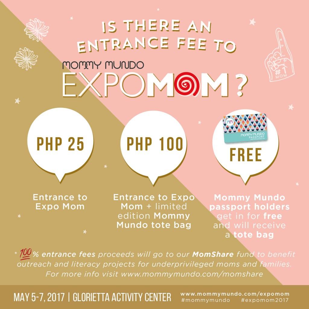 Expo Mom event details_fee