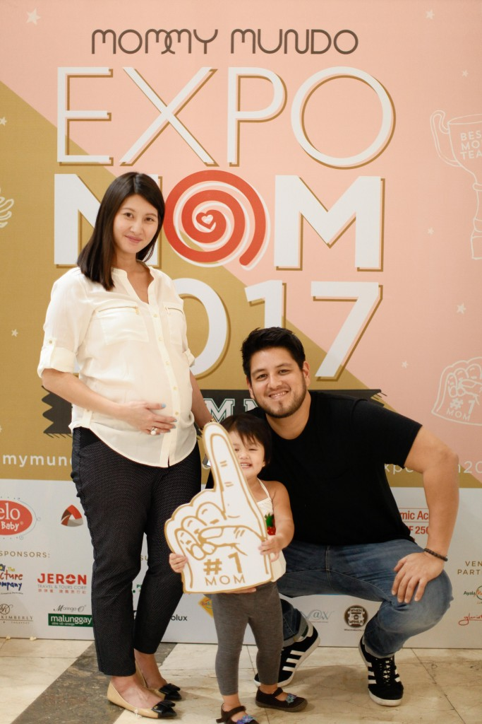 The Muhlach family enjoyed their visit to Expo Mom.