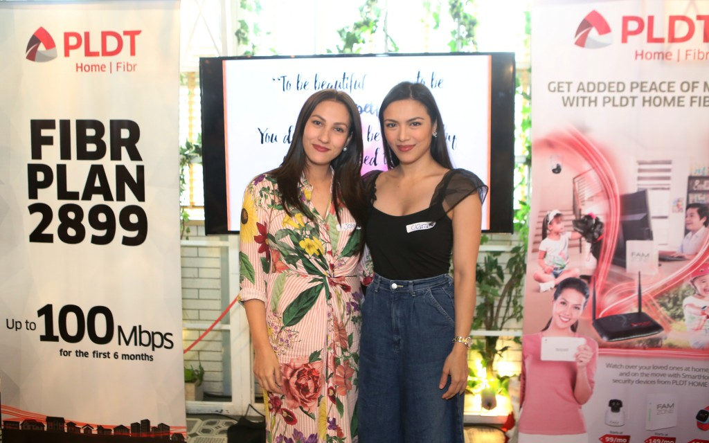 Celebrity moms Joy Woolbright and Ciara Sotto were among the moms who participated in the latest Mindful Mom Re-Treat by Mommy Mundo and PLDT Home Fibr.