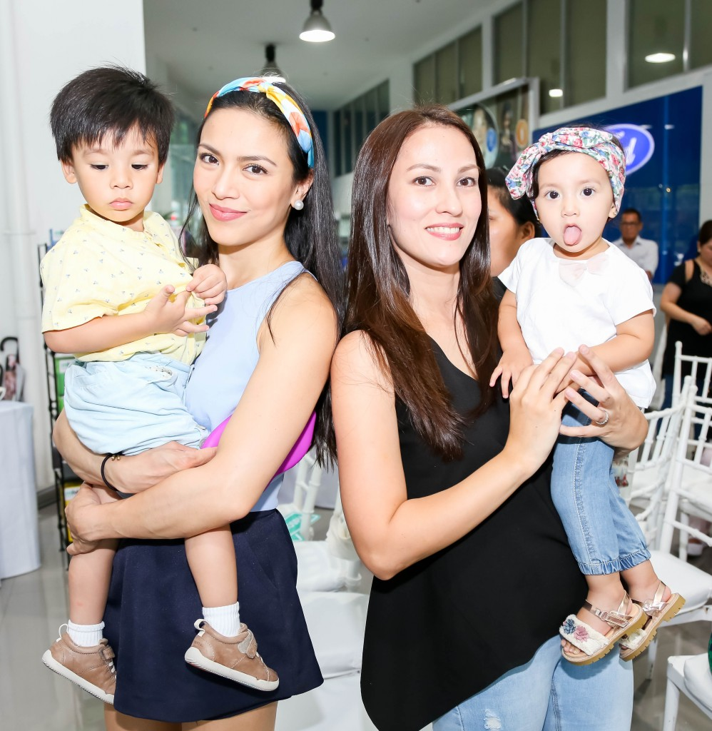 Sisters in law Ciara Sotto and Joy Sotto