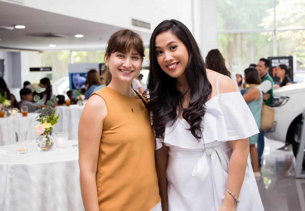 Xandra Rocha Araneta and Paola