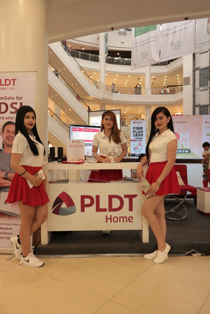 Our friends from PLDT were also there to enhance communication among and between families.