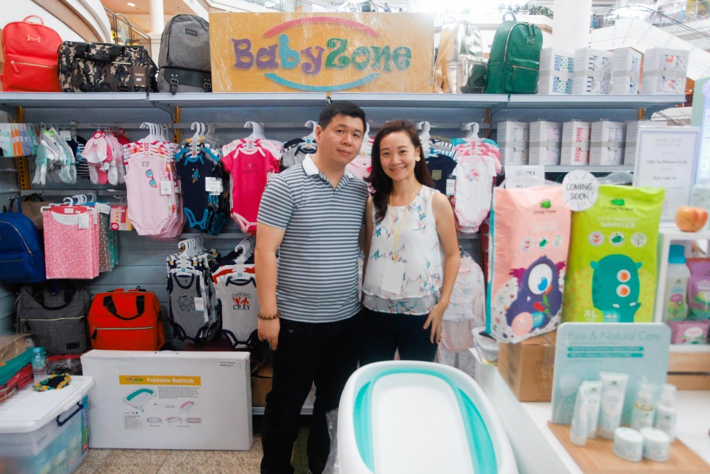 Baby essentials from Chrissie and Nelson Gaw-Sze at BabyZone
