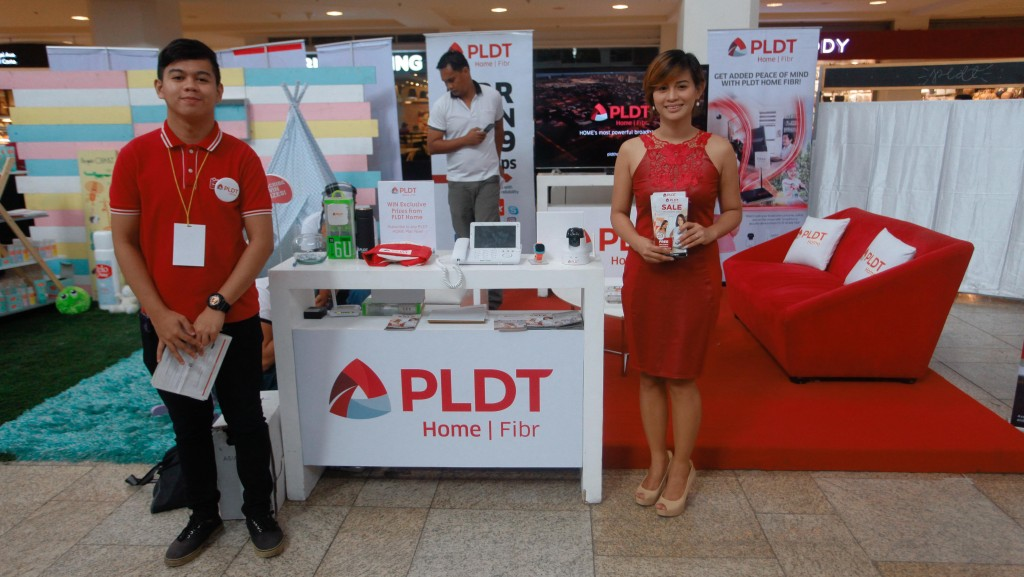 PLDT's corner felt warm and homey