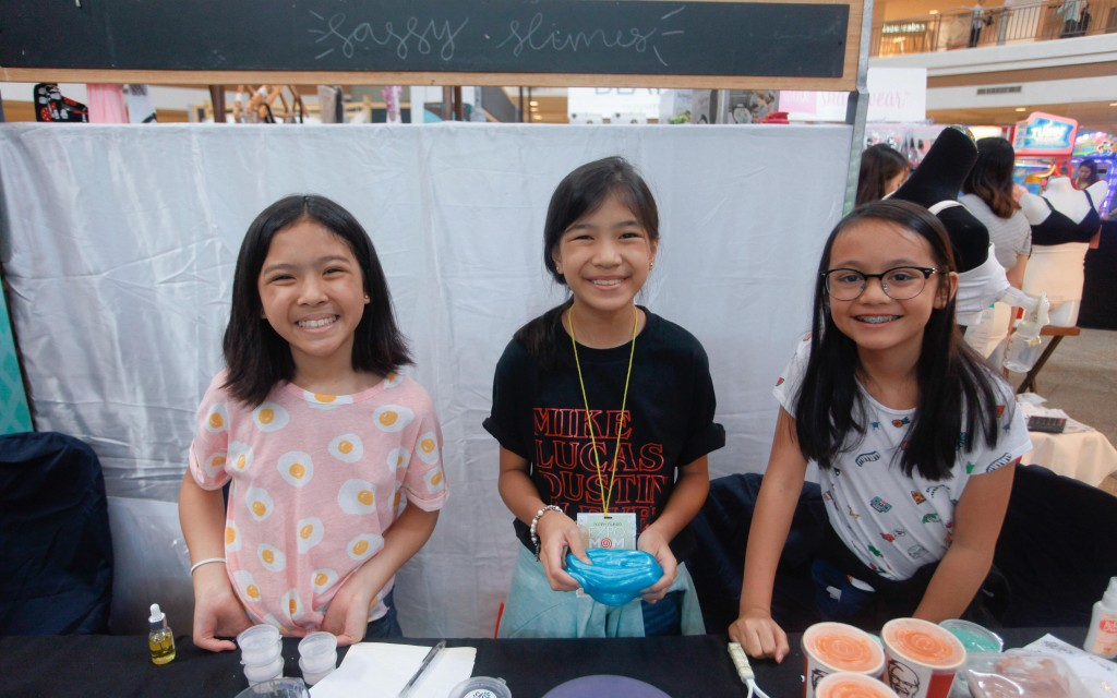 Meet our youngest entrepreneurs, the ladies behind Sassy Slimes PH.