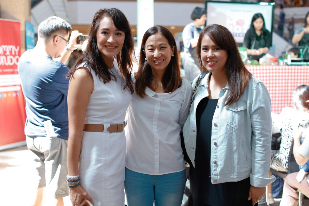 Mommy Mundo Founder Janice Villanueva welcomed Mish Aventajado and Sabrina Go of Mothers Who Brunch. The duo did a food demonstration during the event.