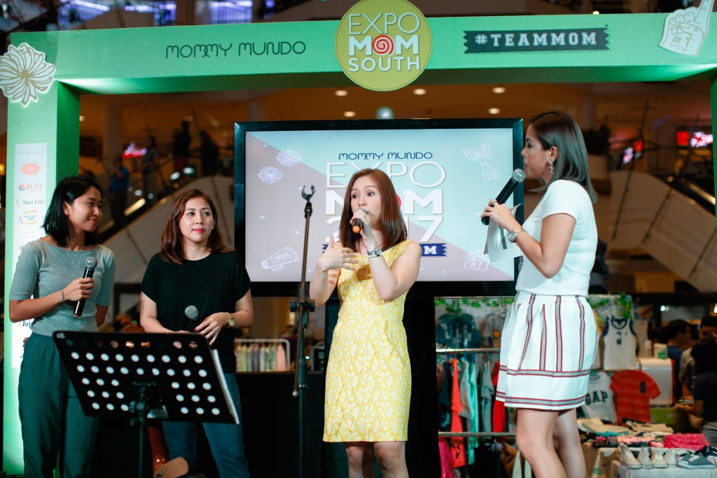 Princess Velasco entertained the Expo Mom South guests.
