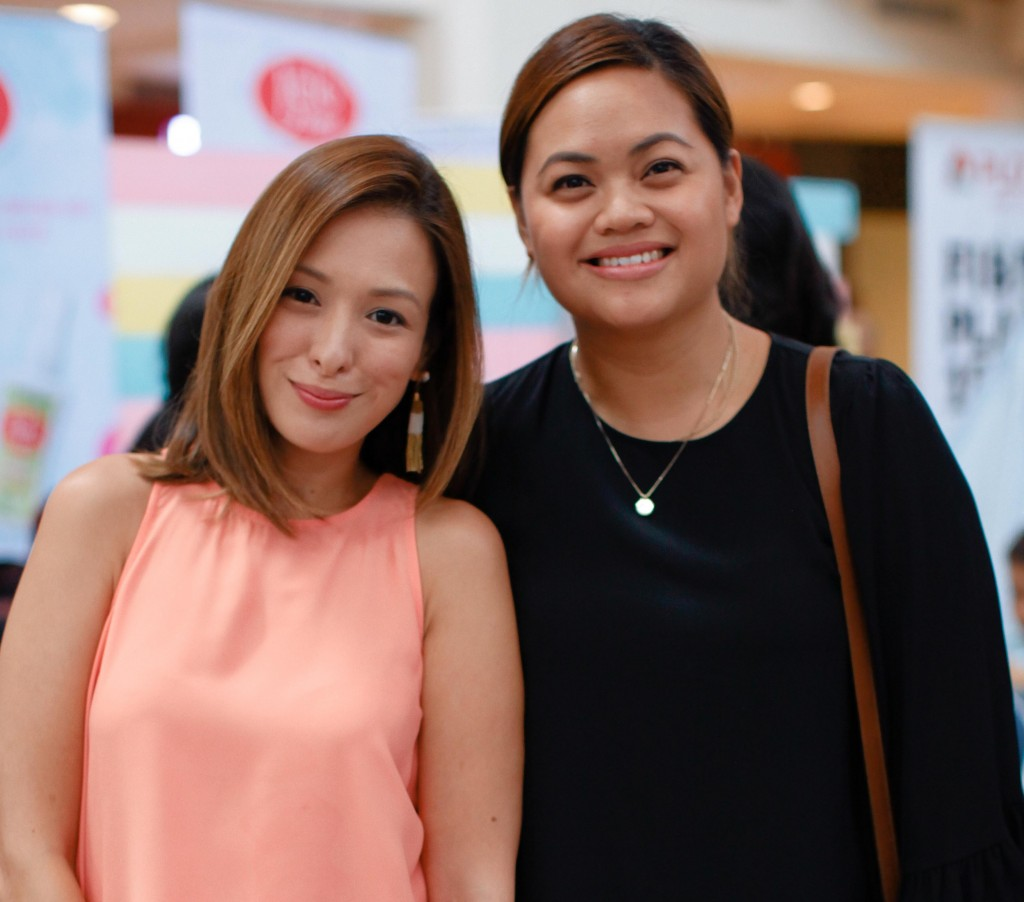 Nicole Hernandez and Bianca Santiago of Baby Barangay make a pretty pair.