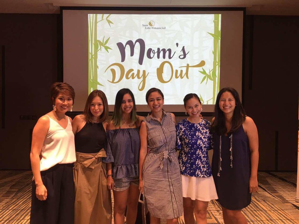 Mommy influencers joined the Sun Life Mom's Day Out