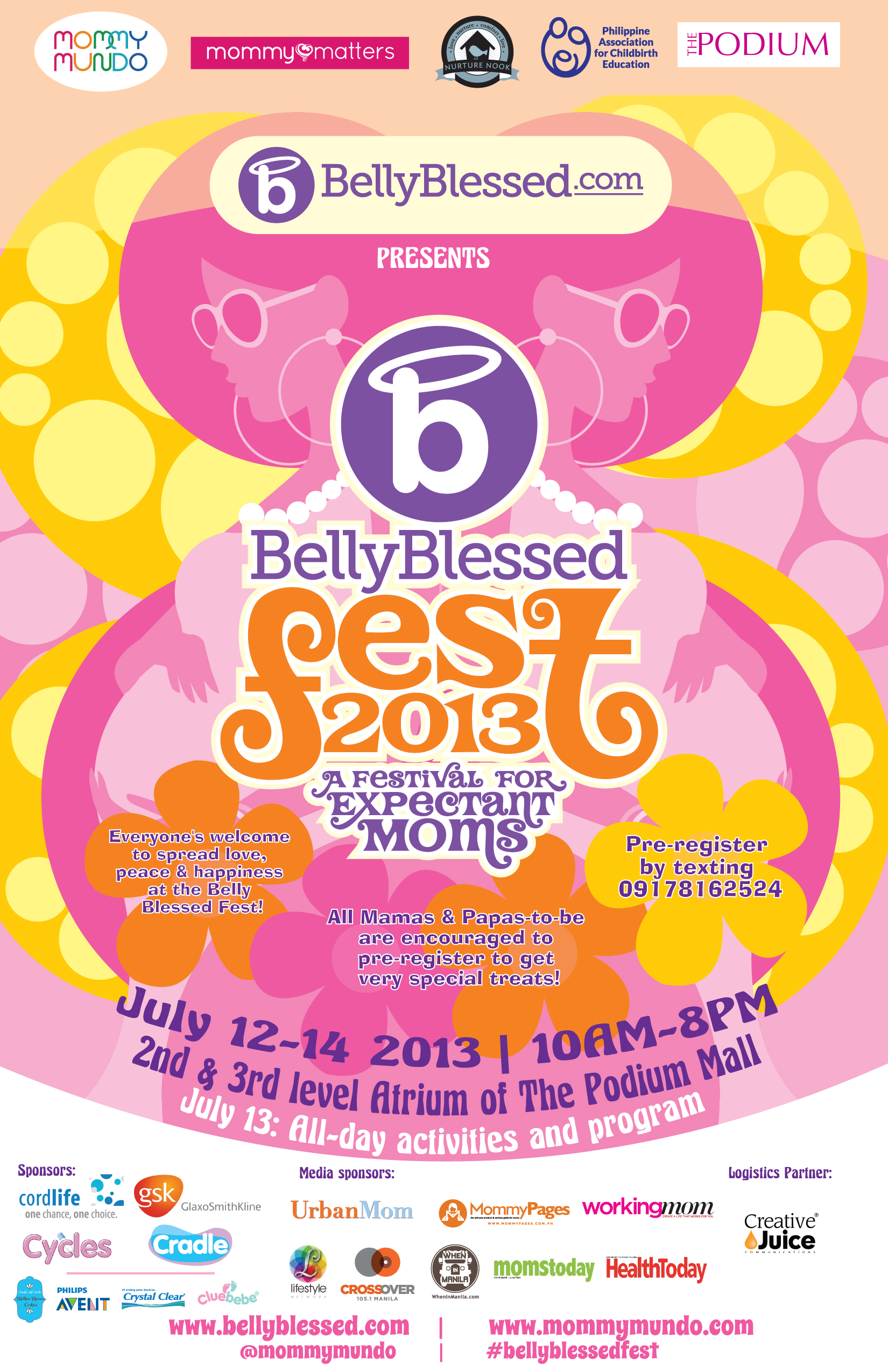 Belly Blessed 2013 Flyer June 25 330pm