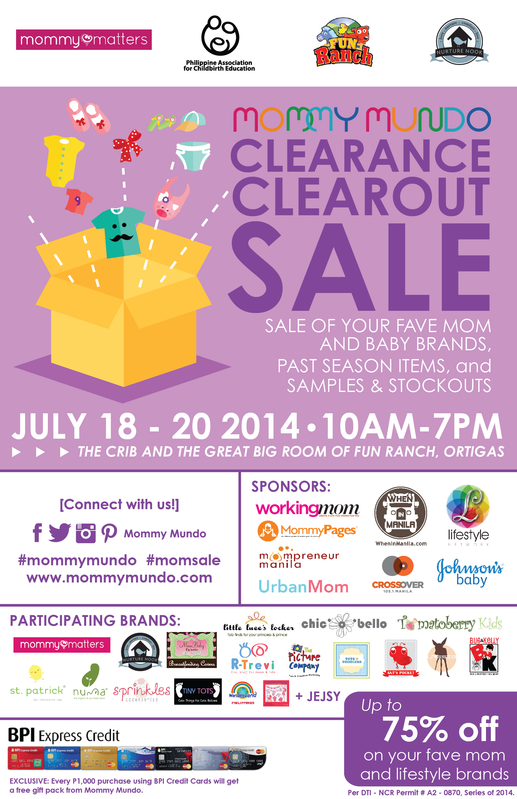 Mommy Mundo Clearance Clearout Sale