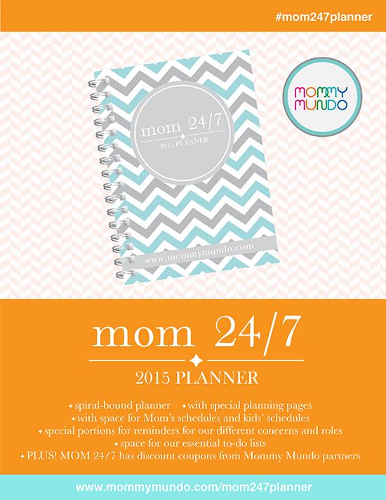 mom 24/7 2014 Planner
