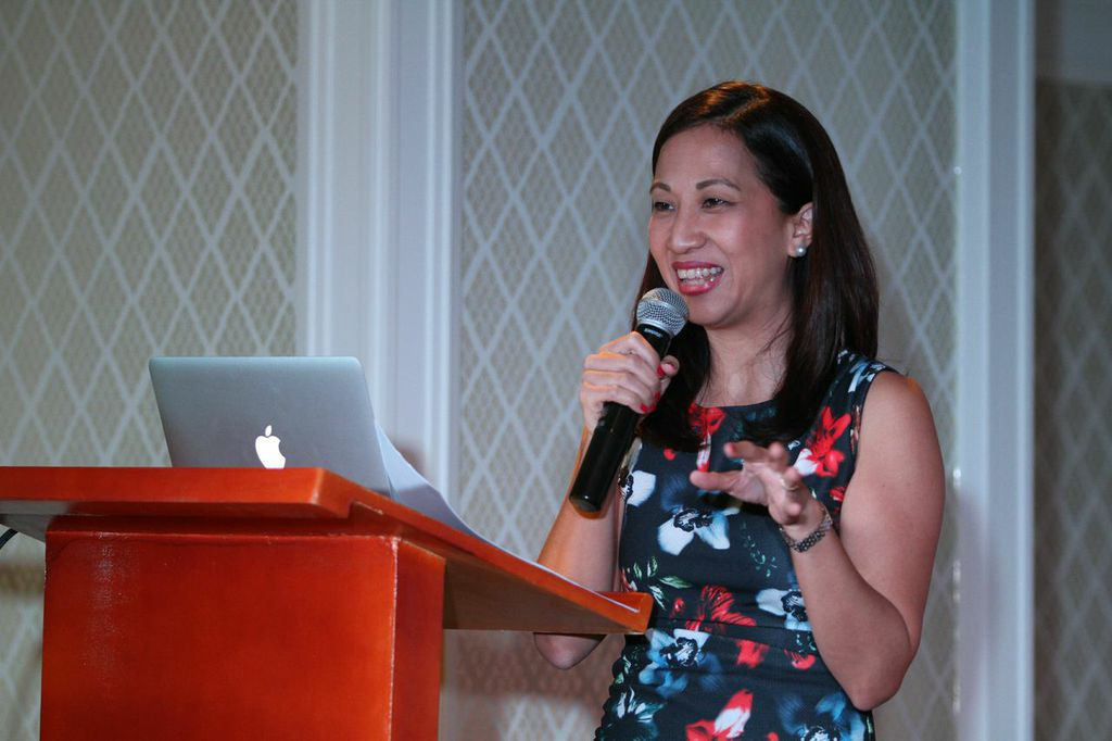 Mommy Mundo Founder, Janice Villanueva