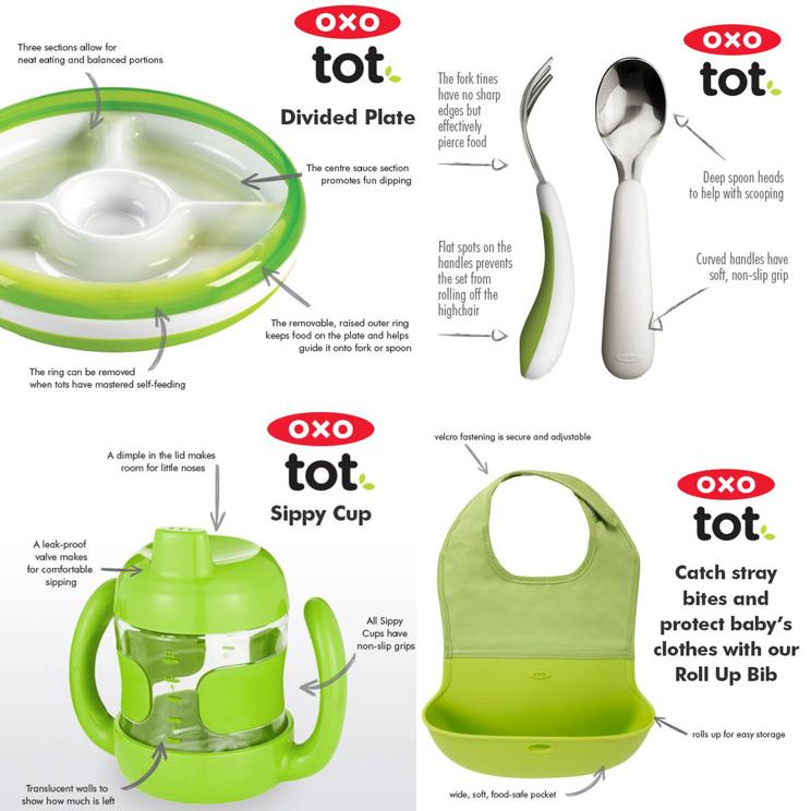 OXO Tot Feeding Line