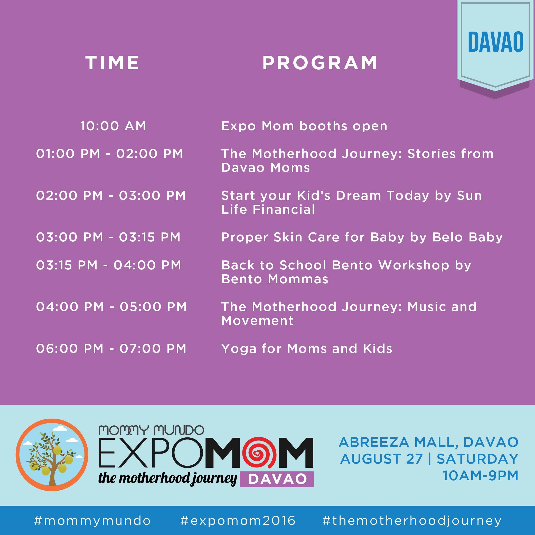Davao Program 0823-01