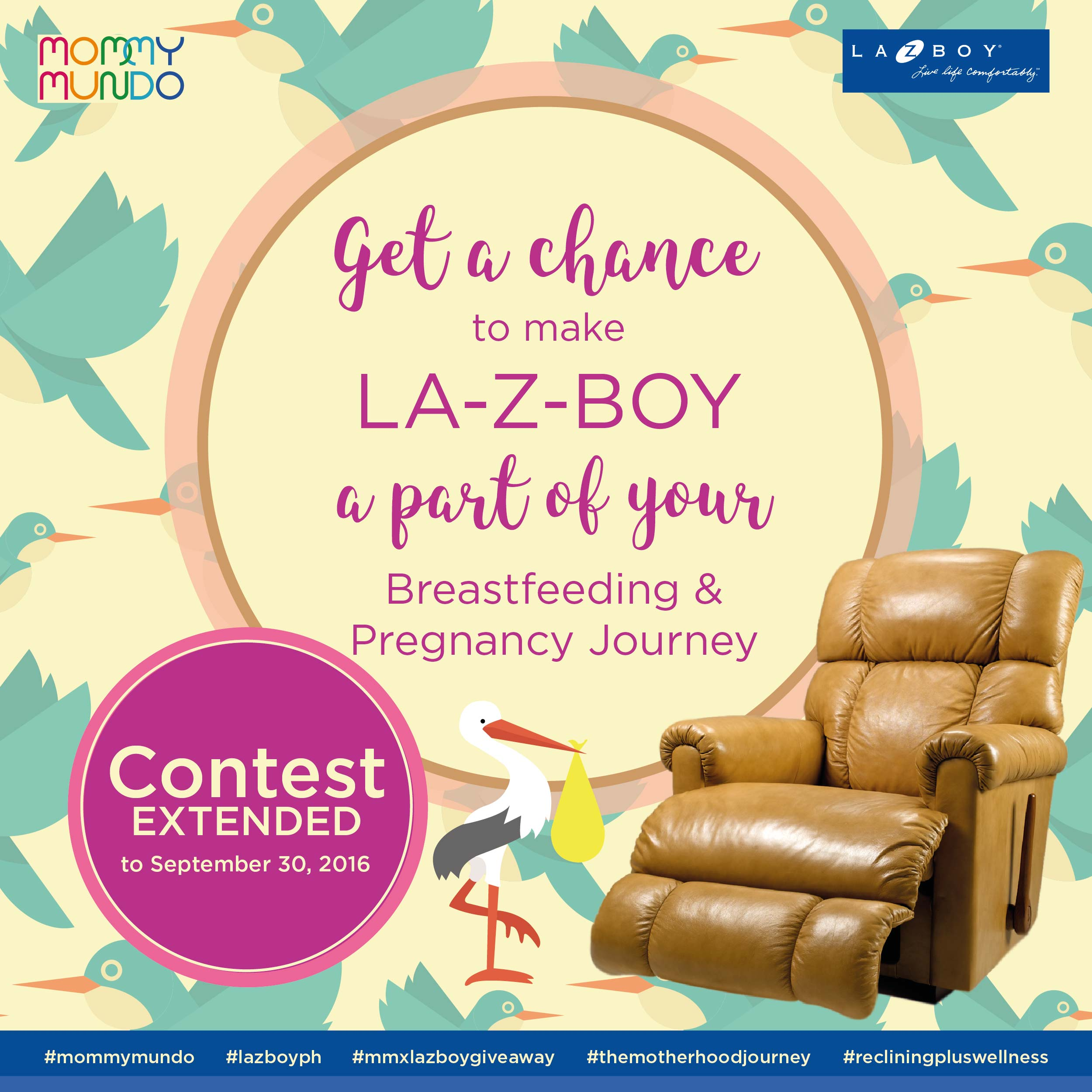 Lazboy Extension Announcement